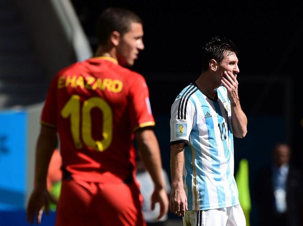 Hazard Selevel Messi Jika ...