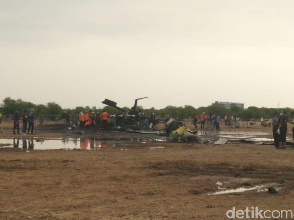 TNI AD Pastikan Heli dalam Kondisi Baik Sebelum Jatuh di Kendal