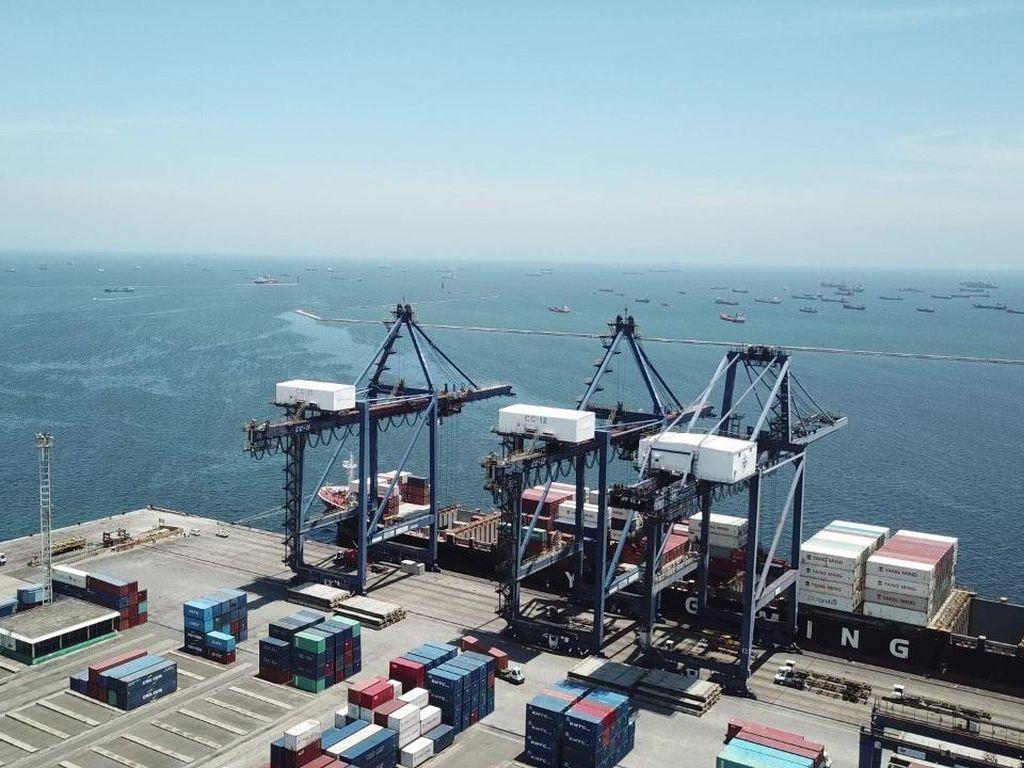 Pelabuhan Dunia Kolaborasi Pastikan Pelayanan Tak Terganggu Saat Pandemi