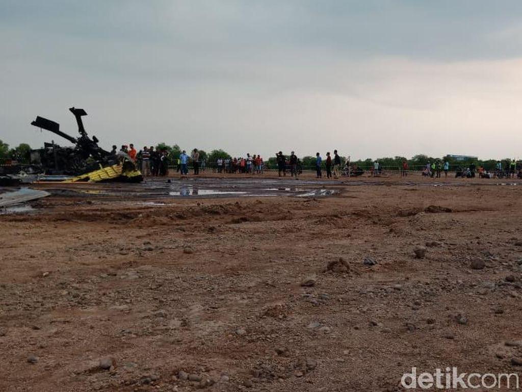 4 Prajurit TNI AD Gugur dalam Insiden Helikopter Jatuh di Kendal