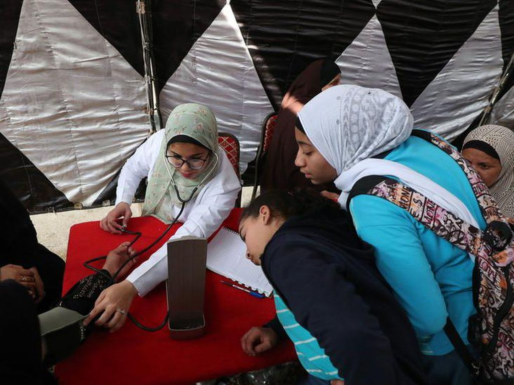 Demi Sunat Perempuan, Pria Mesir Tipu Putrinya Pakai Alasan Vaksinasi Corona