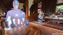 Superhero Bantu Restoran di Puncak untuk Jaga Jarak
