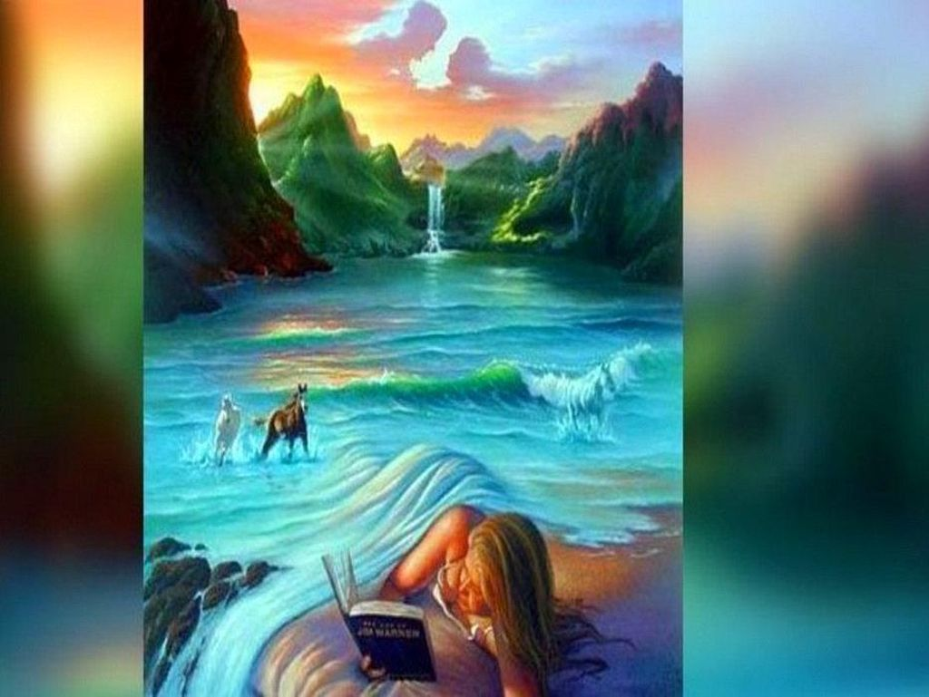Tebak Gambar Kuda atau Wajah Pertama Dilihat Ungkap Ketakutan dalam Cinta