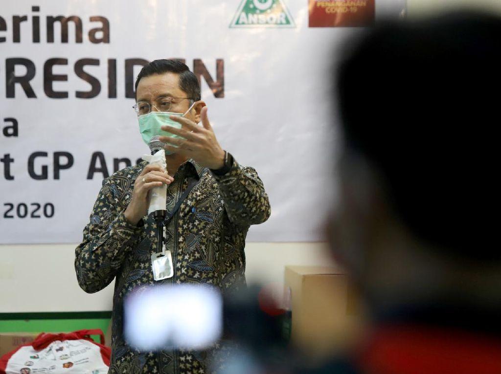Bantuan Ribuan Paket Sembako untuk GP Ansor