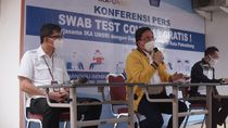 Kolaborasi IKA UNSRI dan BNI, Gelar Swab Test Gratis di Palembang