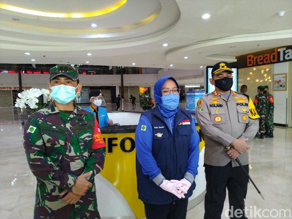Stadion Pakansari Ramai Warga-PKL, Bupati Bogor: Belum Ada Kesadaran