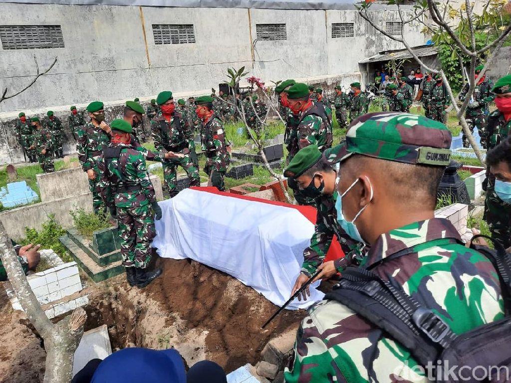 TNI AD Berduka Kehilangan Kapten Fredy Korban Jatuhnya Heli di Kendal