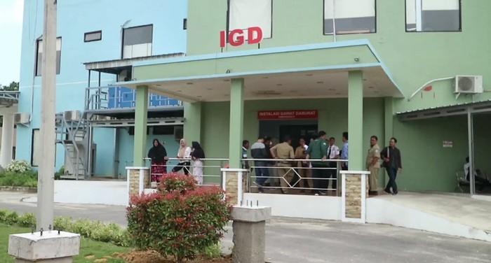 Fasilitas kesehatan di Bangka Belitung. (Deni Wahyono/detikcom)