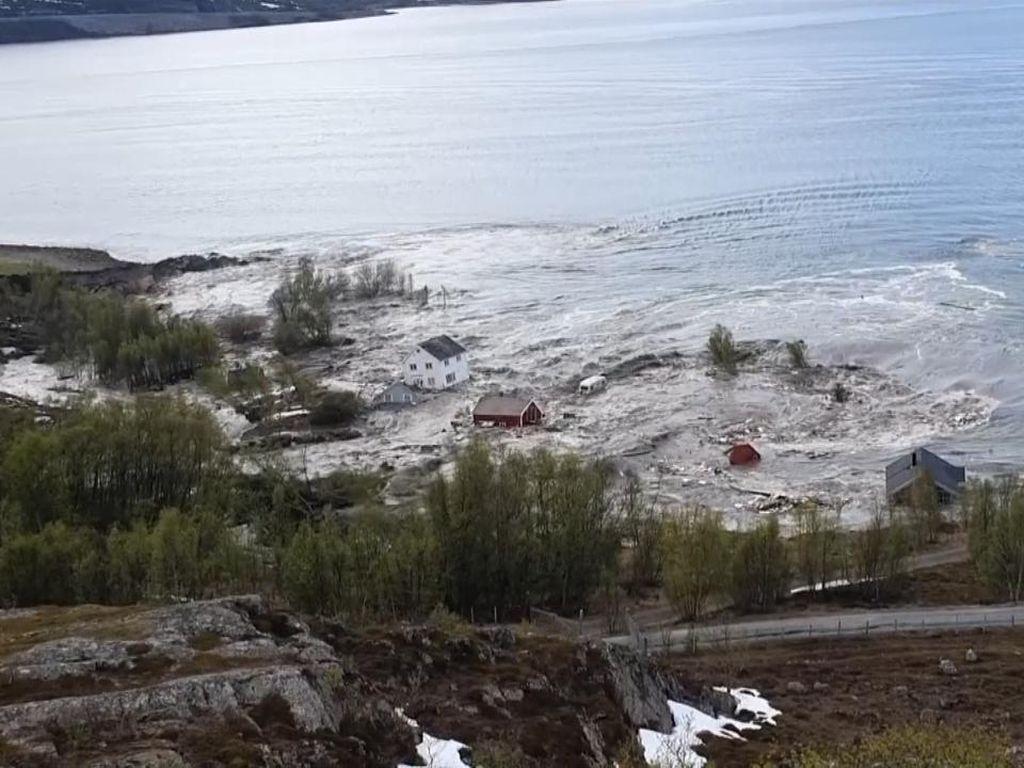 Fenomena Alam Mirip Likuefaksi Terekam di Norwegia