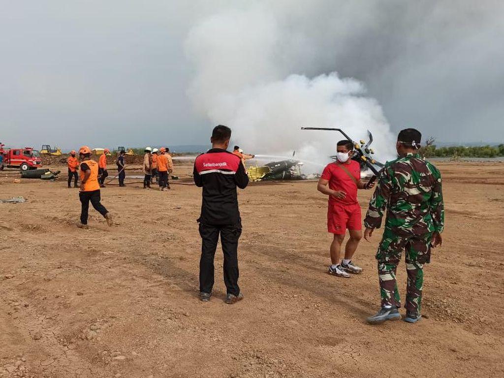 Begini Kondisi Terkini 5 Prajurit TNI AD Korban Helikopter Jatuh di Kendal