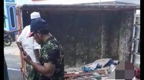 Truk Bak Terbuka Angkut 16 Orang di Sumenep Terguling, 2 Meninggal
