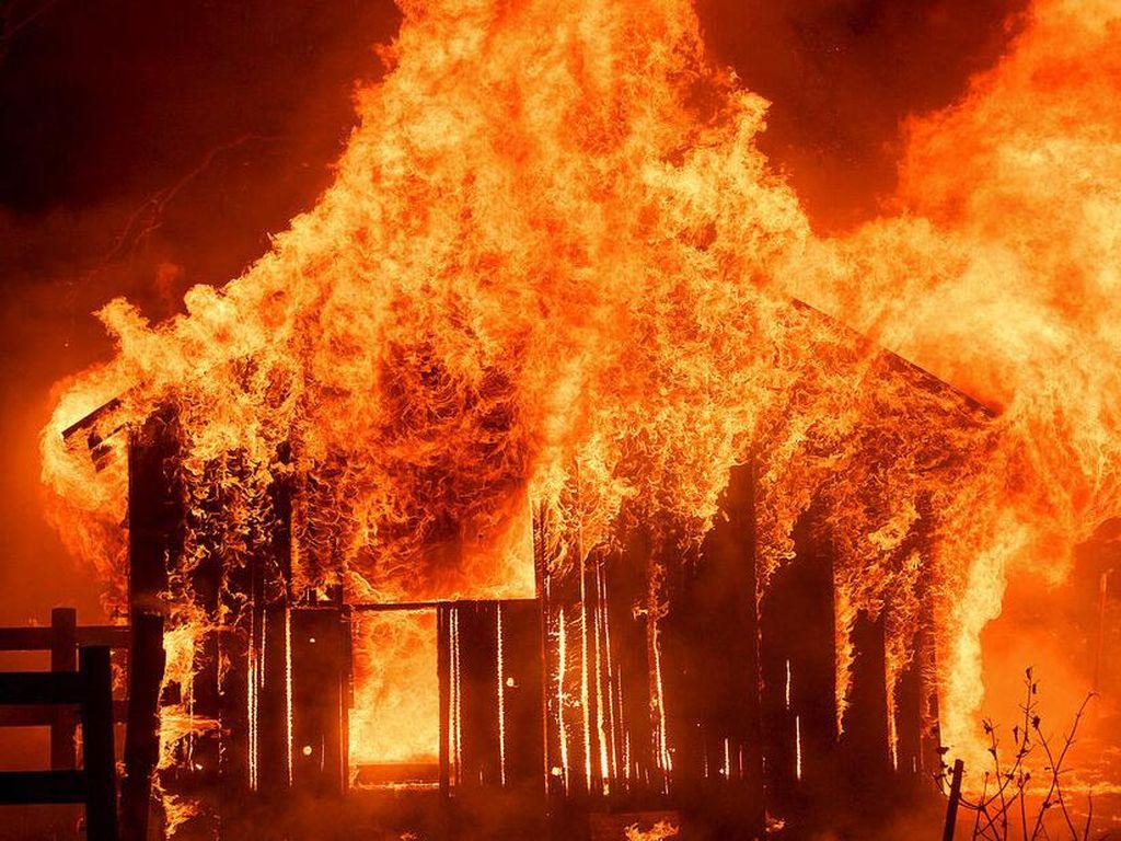 Ruko di Tanjung Duren Terbakar, 23 Mobil Damkar Dikerahkan
