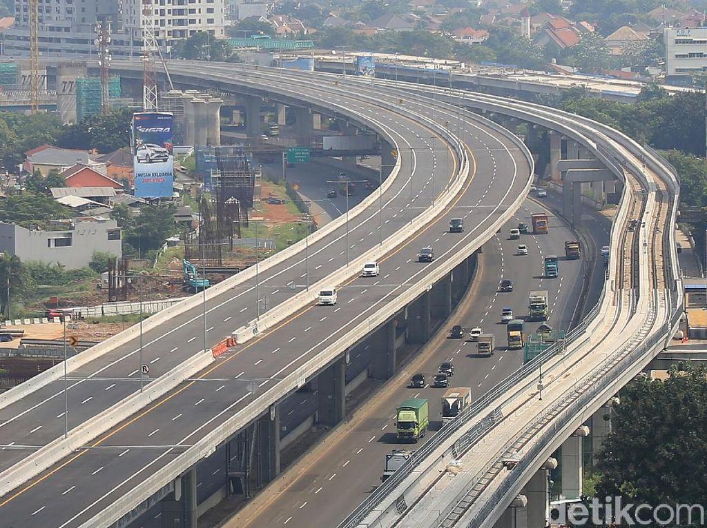 Jasa Marga Bangun 4 Parkir Darurat Tol Layang Jakarta-Cikampek