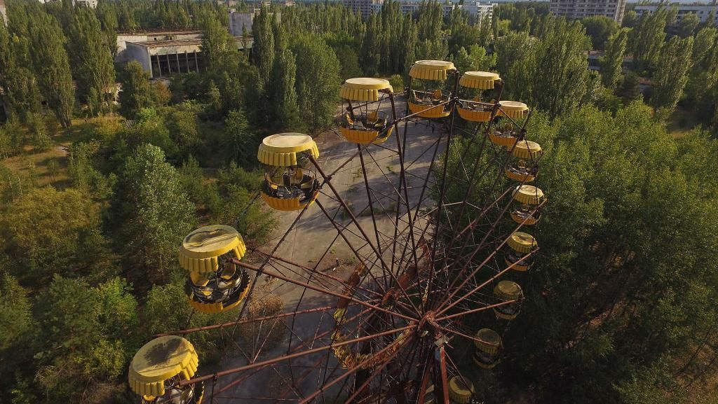 Potret Kota Mati Pripyat Bekas Bencana Nuklir Chernobyl