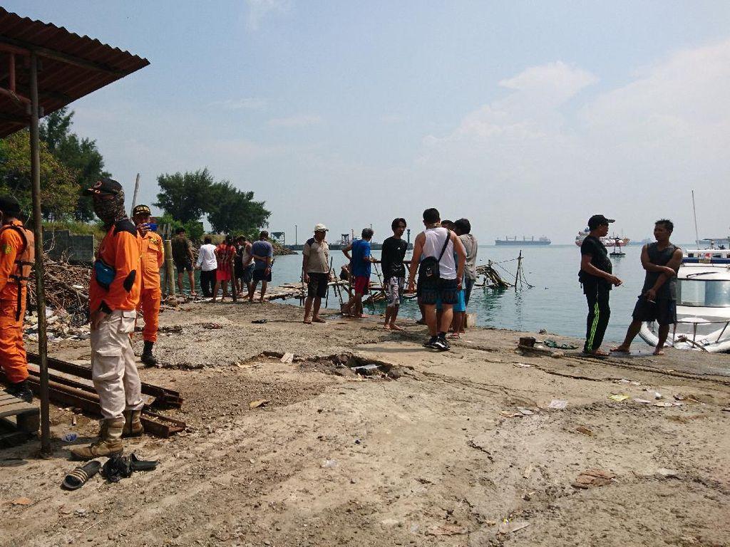 Bocah 8 Tahun yang Hilang Saat Berenang di Pantai Merak Ditemukan Tewas