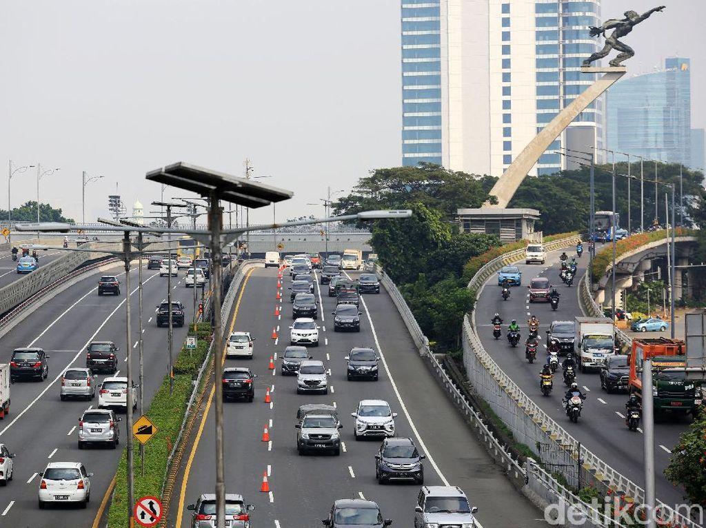 Contraflow Diberlakukan di Tol Dalam Kota