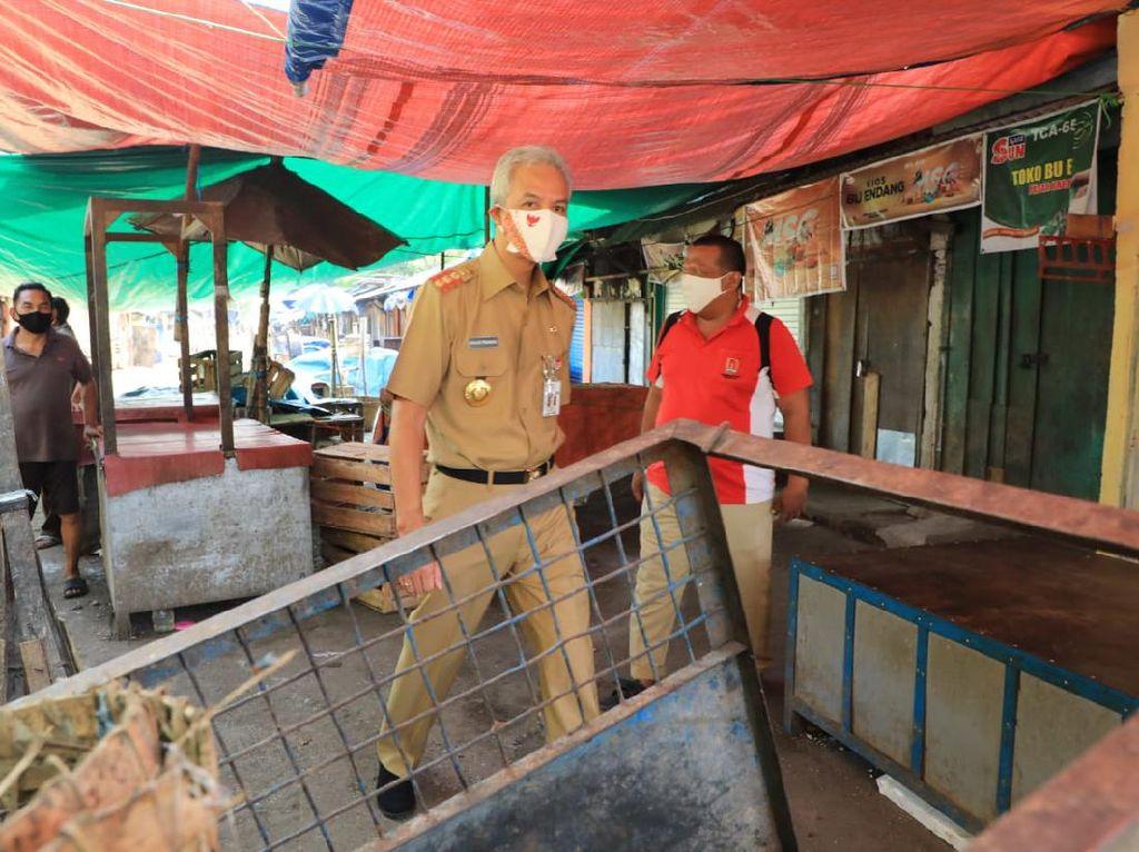 Ditutup Usai Pedagang Kena Corona, Pasar Karangayu Semarang Berbenah