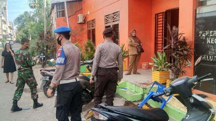 Lokasi OTK Serang Kantor Lurah Makassar