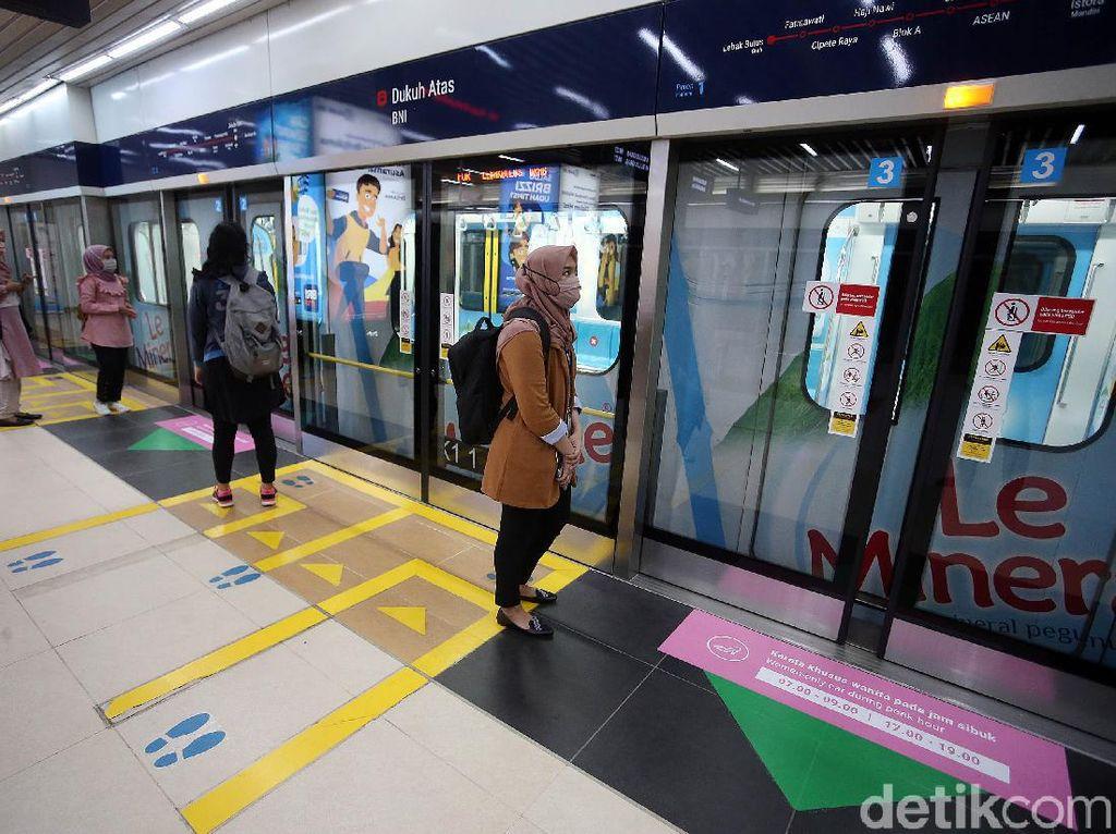 Ganjil Genap Berlaku, Berpengaruh ke Jumlah Penumpang MRT Nggak?