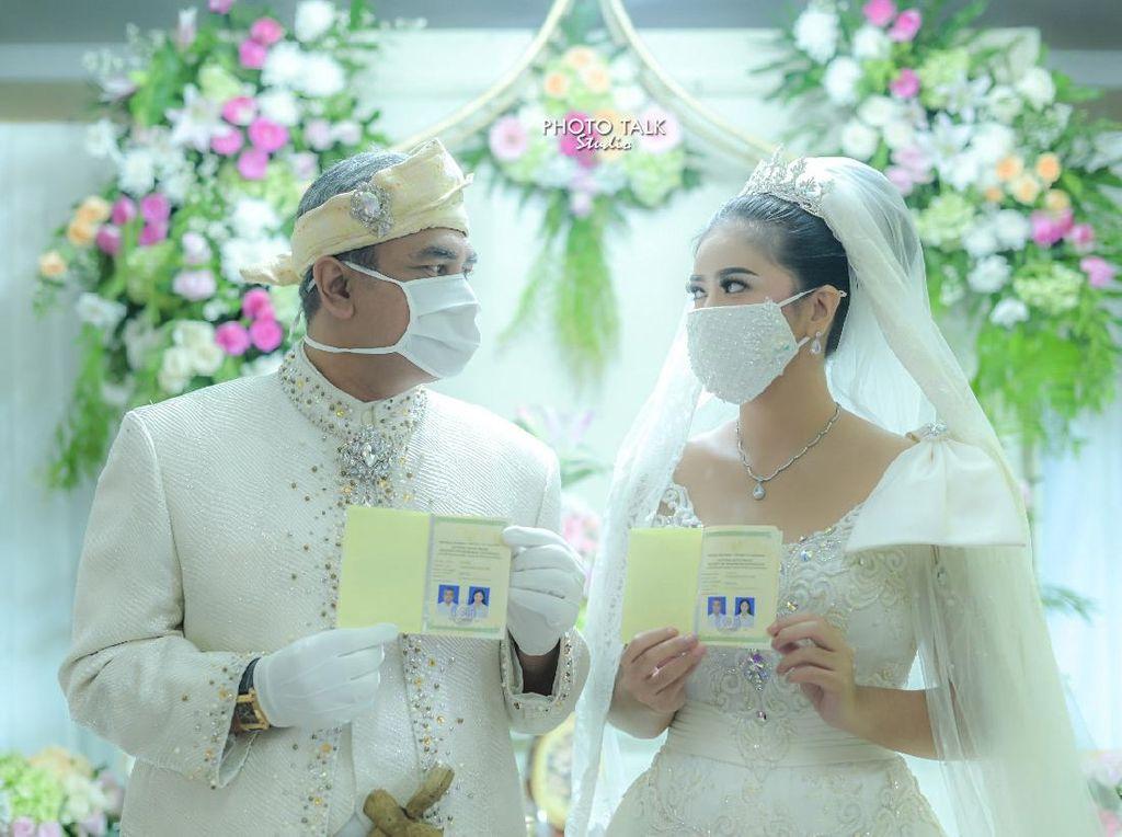 Pernikahan Qory Sandioriva dengan Shah Rei Tertulis dalam Wasiat Ibunda