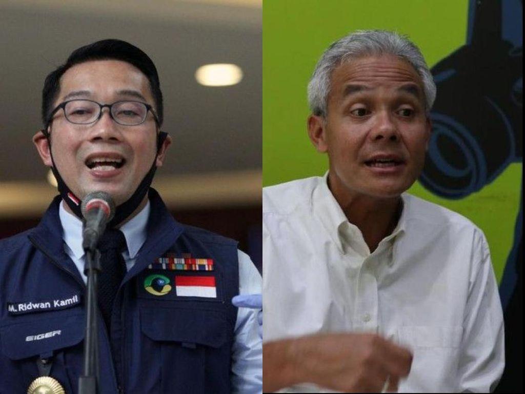 3 Kepala Daerah Terbaik Tangani Corona Versi Survei Charta: RK, Ganjar, Anies