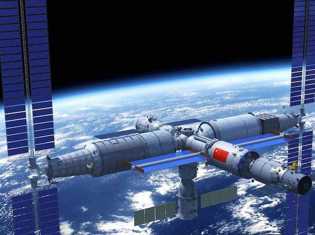 China Mulai Bangun Stasiun Luar Angkasa Tahun Depan