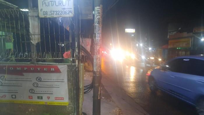 TKP begal payudara di Bekasi