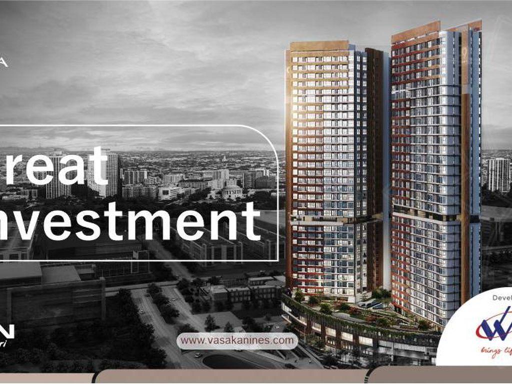 Apartemen Vasaka Nines, Investasi Menguntungkan di Lokasi Strategis