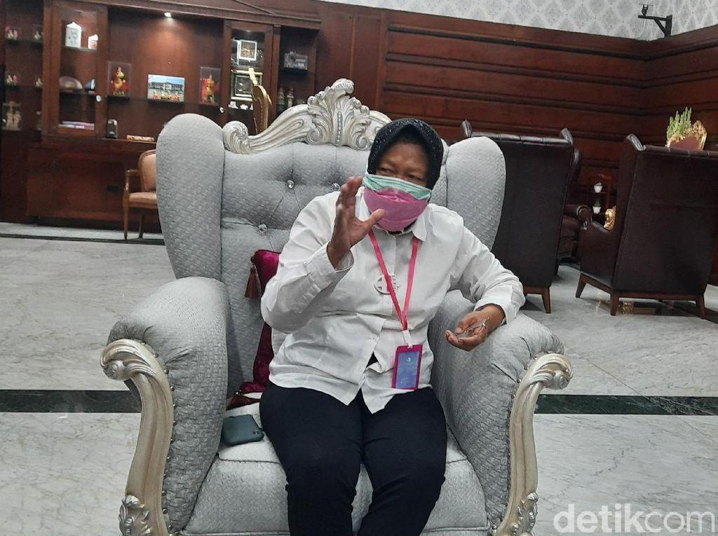 PSBB Surabaya Disetop, Risma Minta Warga Jaga Kepercayaan Gubernur