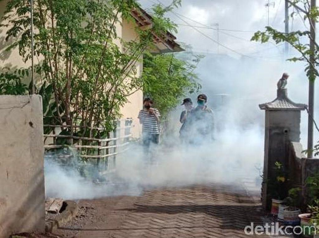Cikungunya Serang Warga, Dinas Kesehatan Banyuwangi Lakukan Fogging