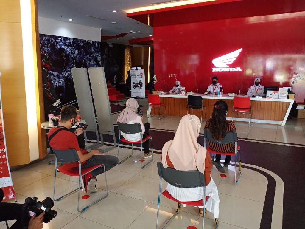 Dealer Honda Buka di Masa PSBB Transisi, Konsumen Diimbau Booking Online