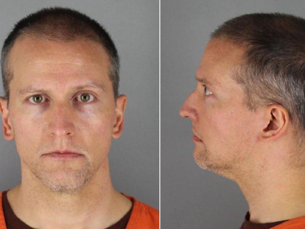 Eks Polisi AS Pembunuh George Floyd Disidang, Jaminan Ditetapkan Rp 17 M