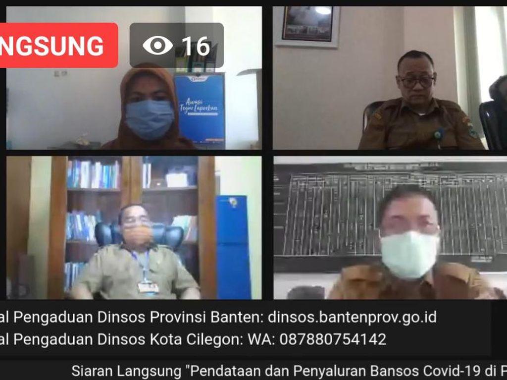 Pemprov Banten Akui Penyaluran Bansos Terdampak Corona Terkesan Lambat