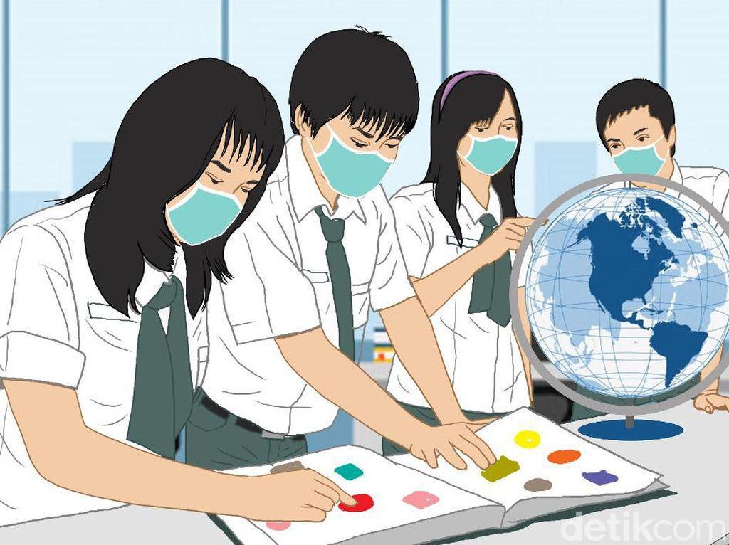 Evaluasi KBM Tatap Muka di Jabar, Disdik: Hanya 50 Sekolah yang Diizinkan