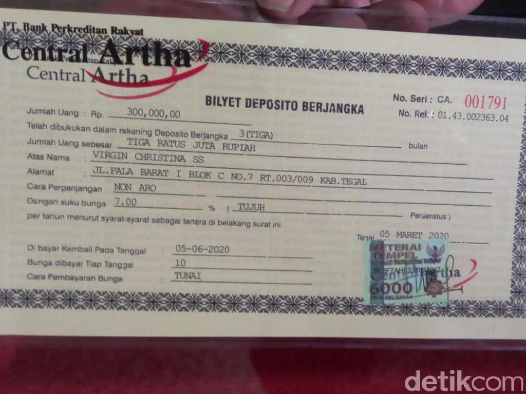 Karyawati Bank di Tegal Gondol Duit Nasabah Rp 6 M Dijerat Pasal Berlapis