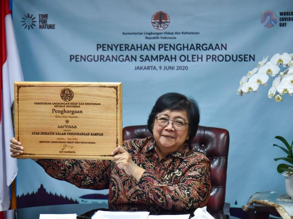 KLHK Beri Penghargaan ke Perusahaan yang Kurangi Sampah