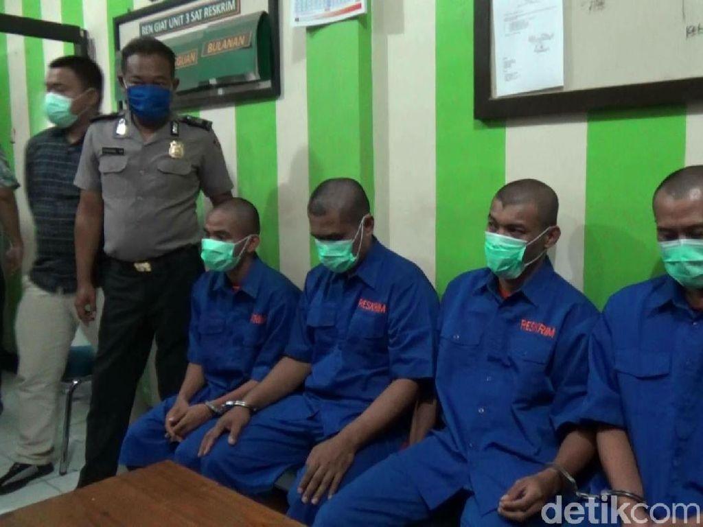 Polres Purwakarta Ringkus Komplotan Pencetak-Pengedar Upal