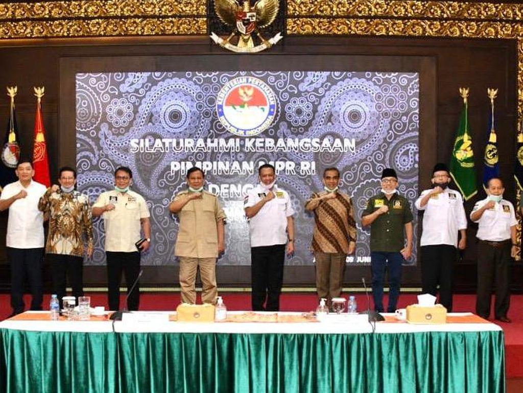 Bertemu Prabowo, Ketua MPR Bahas Pokok-pokok Haluan Negara & RUU HIP