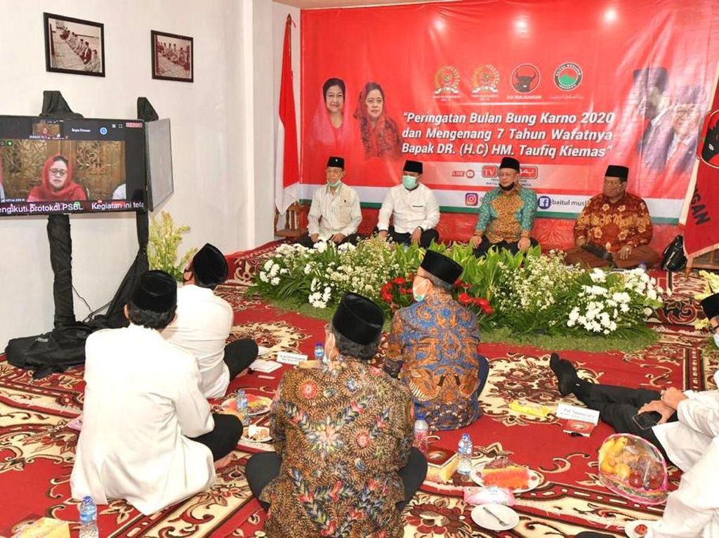 Ketua MPR: Almarhum Taufiq Kiemas Layak Jadi Bapak Empat Pilar MPR