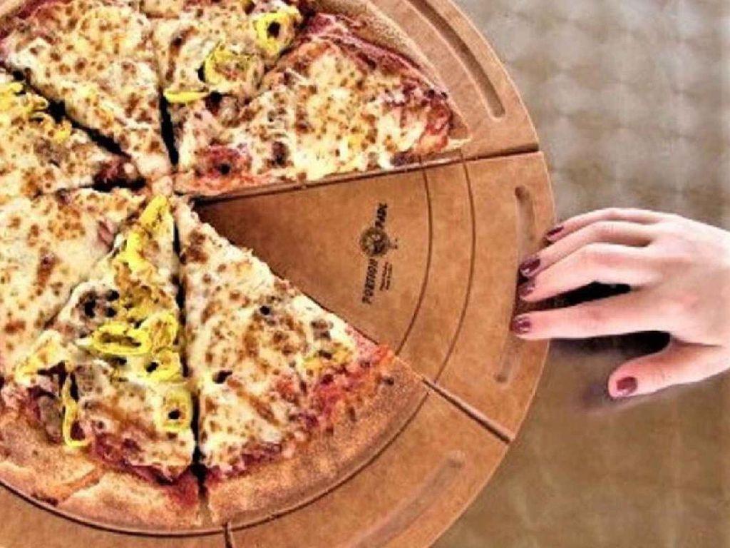 Sambut New Normal, Ada Wadah Pizza Khusus yang Minim Sentuhan