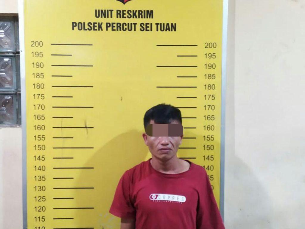 Polisi Tangkap Pria Diduga Preman yang Tagih Uang ke Toko di Medan