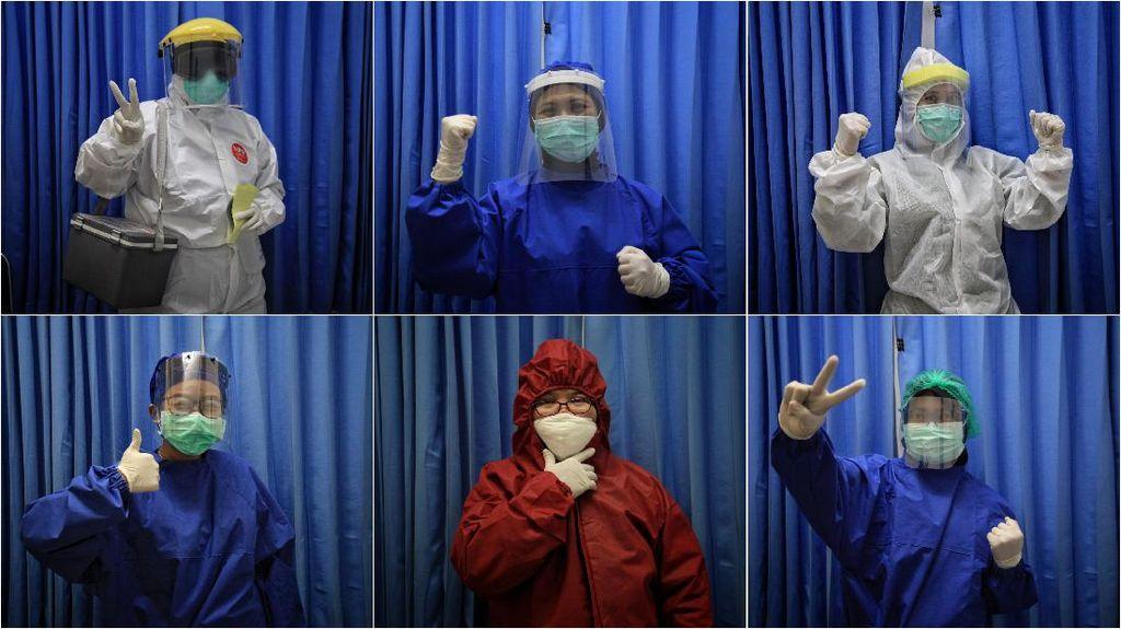 Semangat Juang Petugas Medis Dalam Bingkai Foto