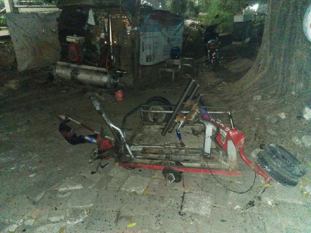 Soal Kecelakaan di Jaktim, Polisi: Vespa Gembel Tak Boleh Mengaspal