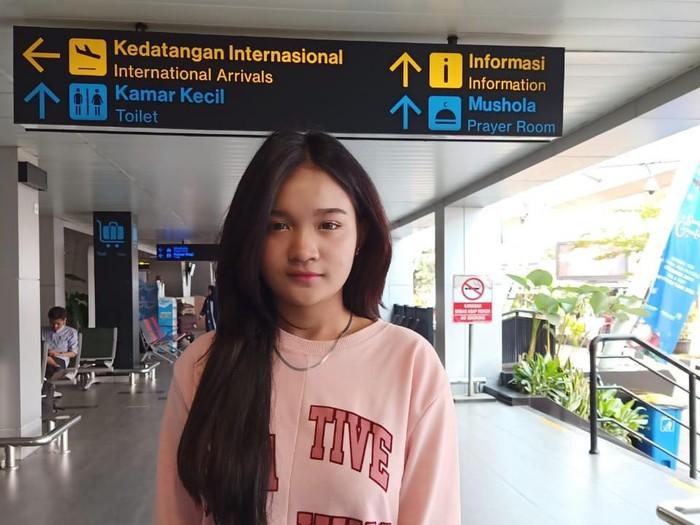 Syifa Aafiyah (18), gadis cantik asal Bandung yang hampir satu pekan minggat dari rumah