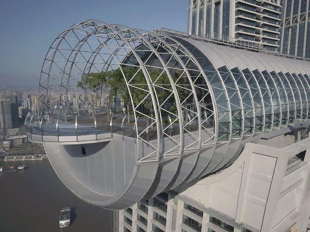 The Crystal Gedung Horisontal Tertinggi di Dunia Punya China