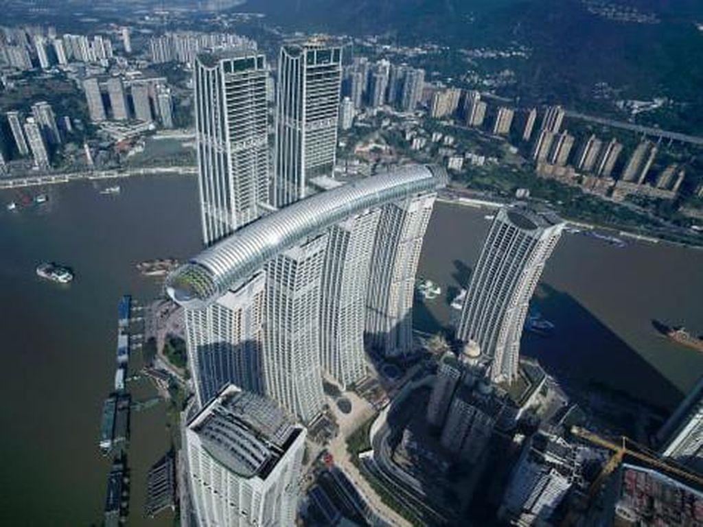 China Punya Jembatan Langit