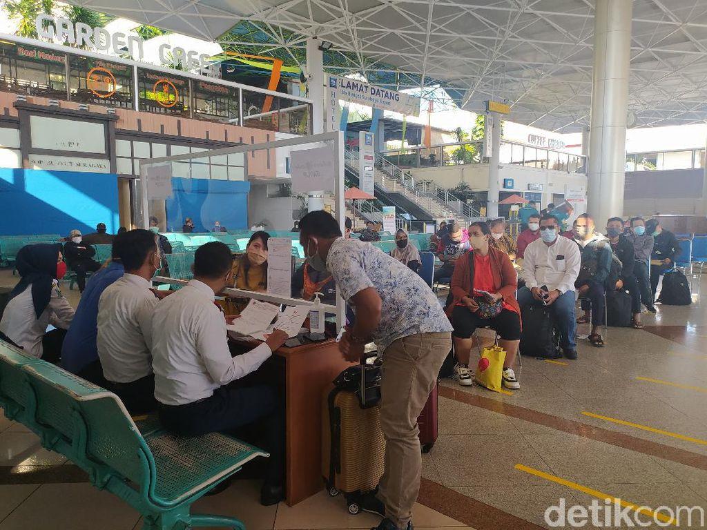 Di Masa Transisi, Ini 2 Syarat Bagi Calon Penumpang Bandara Juanda