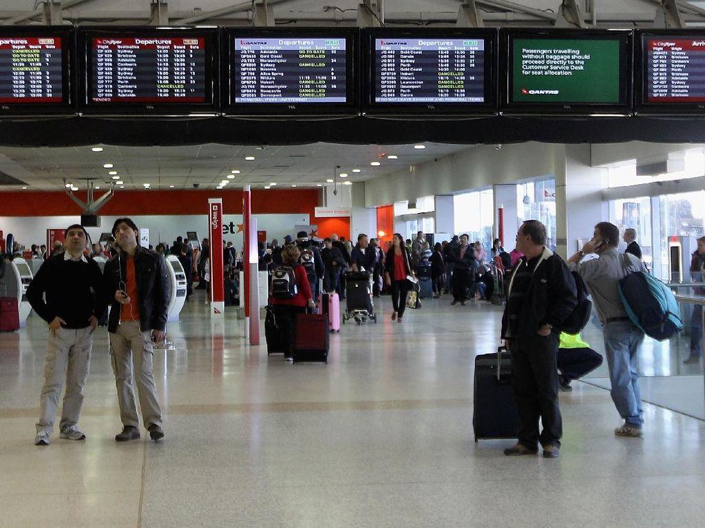 Diduga Curi Tas Louis Vuitton, WNI Ditangkap di Bandara Melbourne
