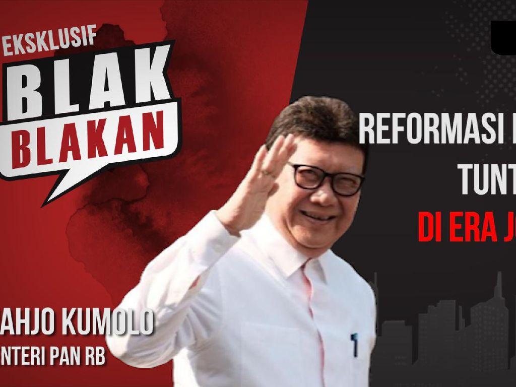 Tjahjo Kumolo Blak-blakan Reformasi Birokrasi di Era Jokowi