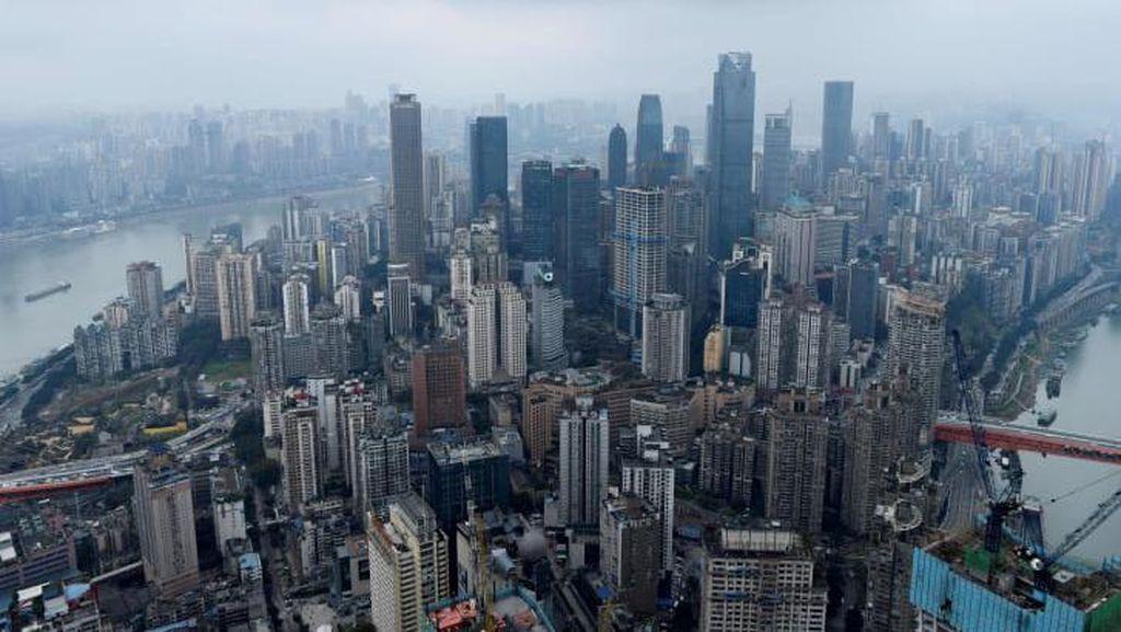 Dominasi Gedung Pencakar Langit China dalam Foto